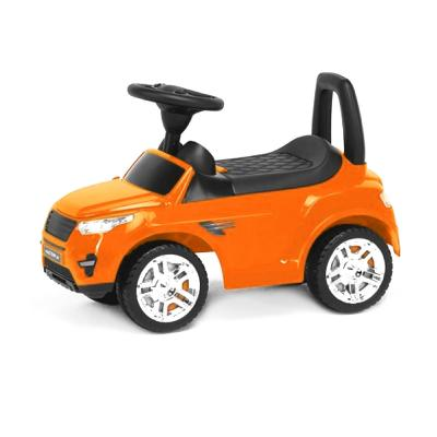 Детская машинка-каталка (оранжевая)