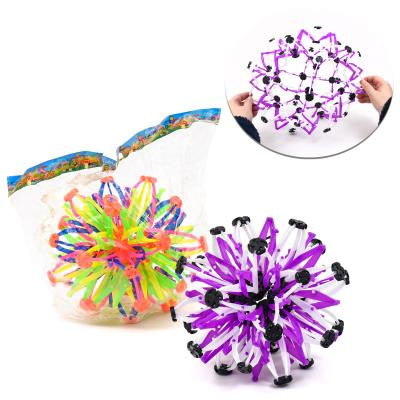 Мяч X13467 (120шт) трансформер, микс цветов, в кул