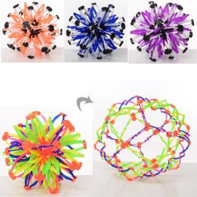 Мяч X13467 (120шт) трансформер, микс цветов, в кул, X13467