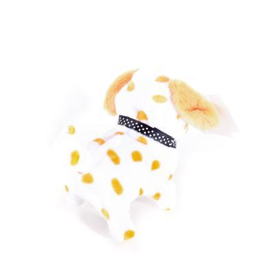 Собака мягкая, размер маленький, 15см, 5цветов, зву