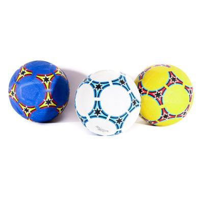 Мяч футбольный размер 5, резина Grain, 350г, 3 цве