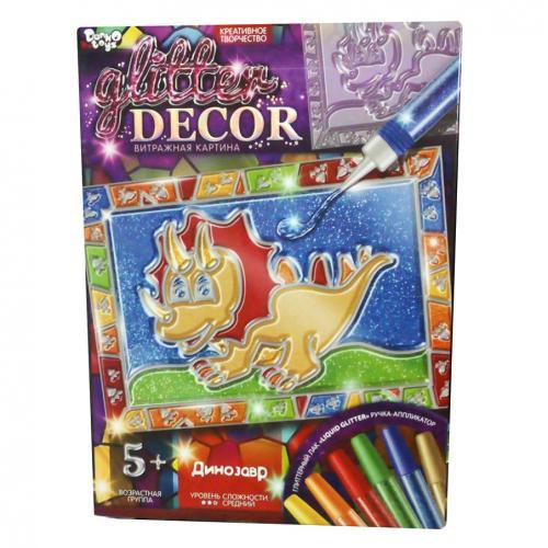 """Набор креат творч""""Glitter Decor"""" Рос, ДТ-ОО-09124"""