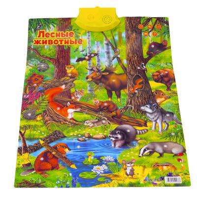 """Плакат """"Лесные животные"""""""