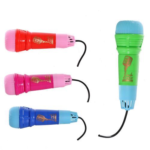 Микрофон 2023-3A-4A (480шт) 14,5см, 2цвета, в куль, 2023-3A-4A