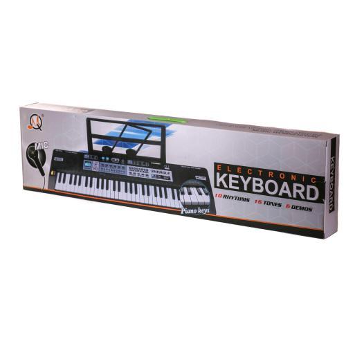 Синтезатор MQ6180-82 (16шт) 61клав, микрофон, запи, MQ6180-82