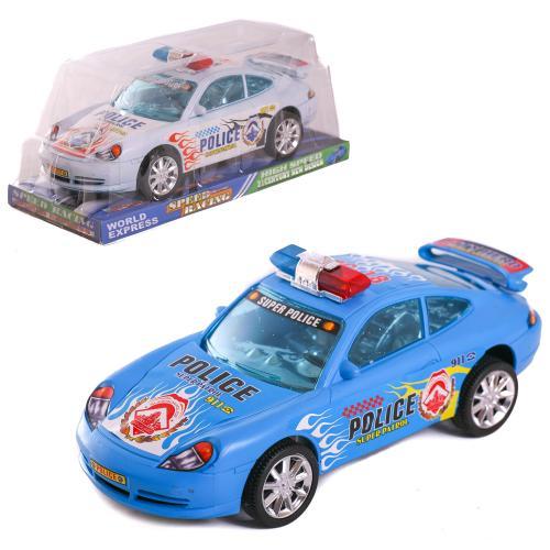 Машинка 1001A (96шт) инер-я, полиция, 24см, 2цвета, 1001A