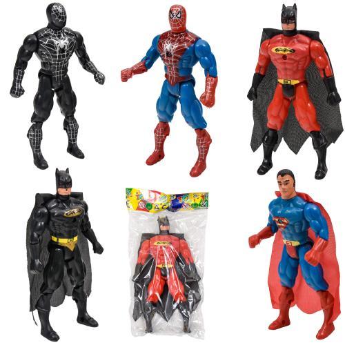 Супергерой 8077-08 (240шт) свет, 6 видов(СП, BM, С, 8077-08