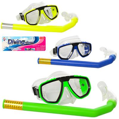 Набор для плавания маска + очки