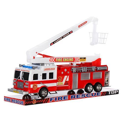 Пожарная машина инер-я, 41-16-11см, подвижная стр, SH-8855