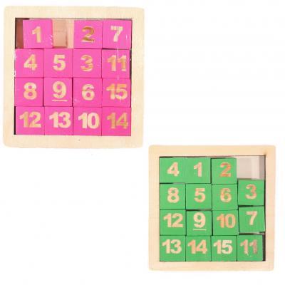 Деревянная игрушка Пятнашки MD 1512 (200шт) 2 цвет