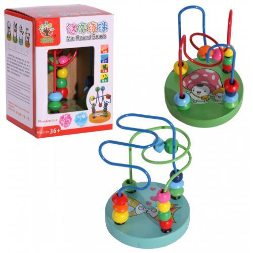 Деревянная игрушка Лабиринт MD 0060 (140шт) на про, MD 0060