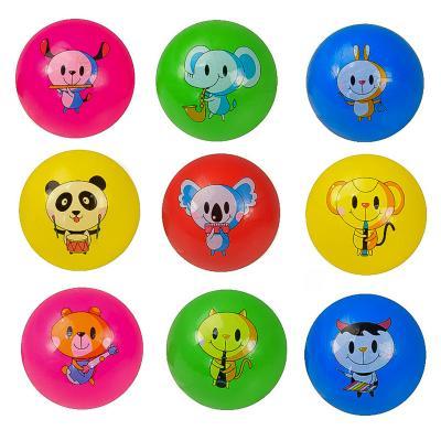 Мяч резиновый 22см 60гр,10видов,5цветов