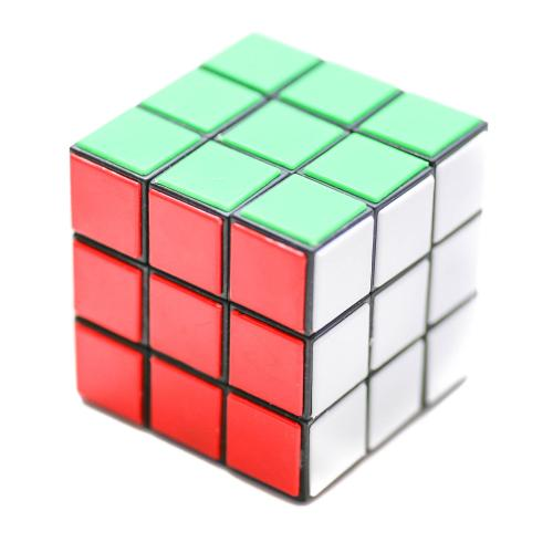 Кубик Рубик в кульке, 5,5-5,5см, 588