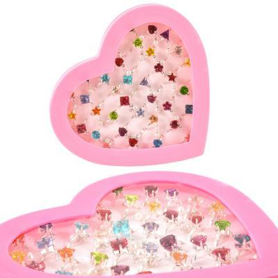 Набор колечек для девочек (цена за упаковку)