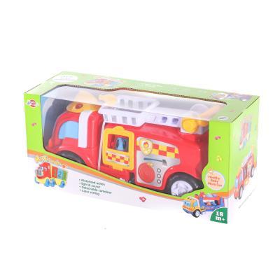 Пожарная машина 969-K11 (24шт) 31см, муз,звук,свет