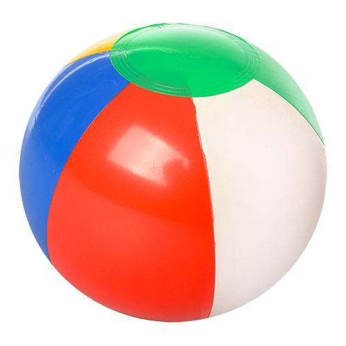 Мяч надувной, 18см, в кульке, 6-7см, MSW 023