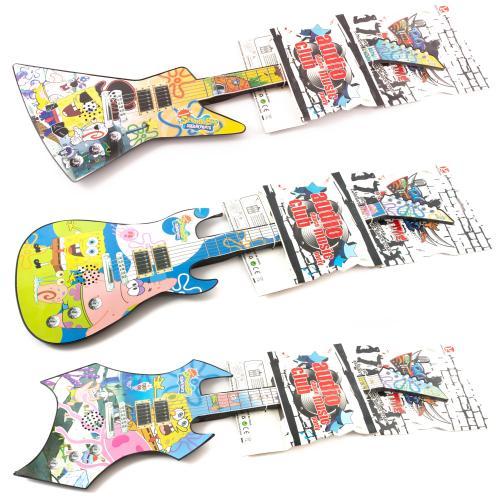 Гитара 3 вида, муз (3 рок-песни), на бат-ке, на ли, 88001 A-6