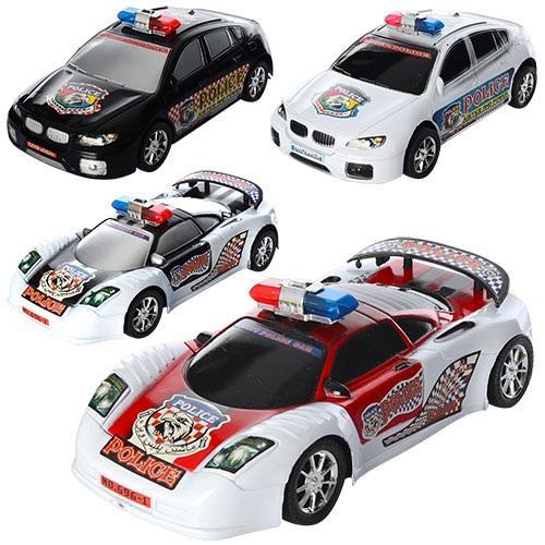 Машинка 686-696-1 (144шт) инер-я, полиция, 2 вида, 686-696-1