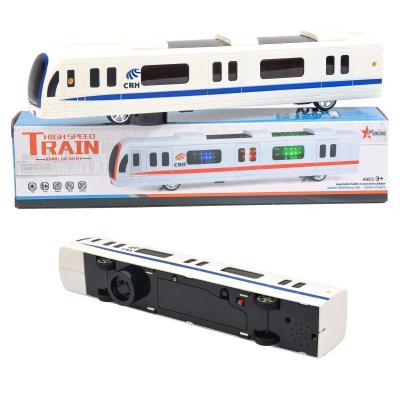 Поезд 888A1-В1 (72шт) 33,5см, муз, звук, свет, езд