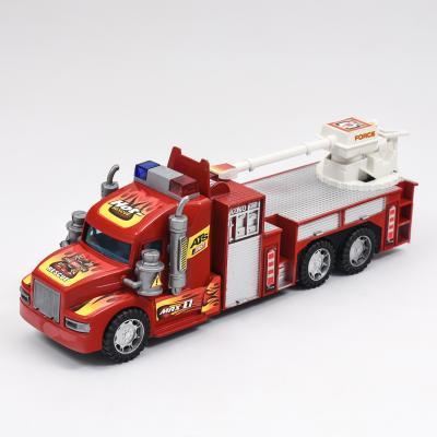 Пожарная машина, инерционная, 689-110-111