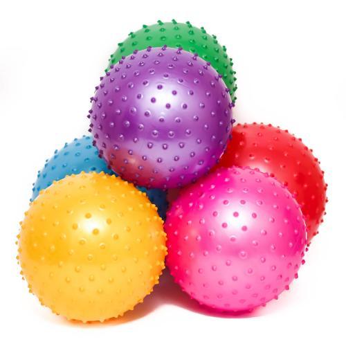 Мяч массажный MS 0023 (250шт) 8 дюймов, ПВХ, 90г, MS 0023