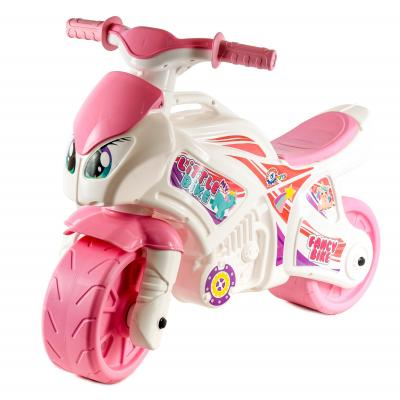 Мотоцикл толокар, розовый