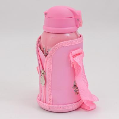 Детский термос - поилка, в сумке,с чашечкой, MM 001140