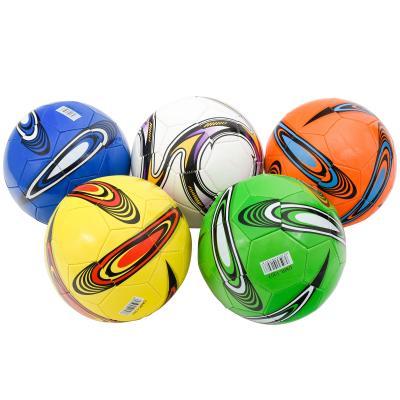 Мяч футбольный, размер 5,пять цветов в ящ,200 грам