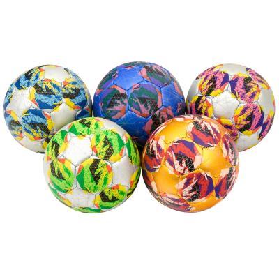 Мяч футбольный, 6 видов,6 дюймов,ПВХ,100 грамм