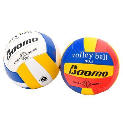 Мяч волейбольный,размер 5,два цвета в ящ,260 грамм