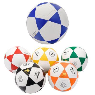 Мяч футбольный,размер 5, пять цветов в ящ, 400 гра