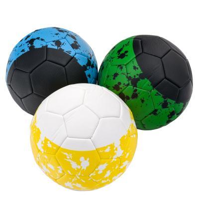 Мяч футбольный,размер 5,ПУ,420 грамм, три вида в я