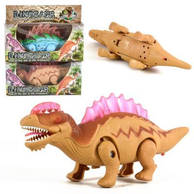 Динозавр в коробке 2 шт в коробке на батарейке,зву
