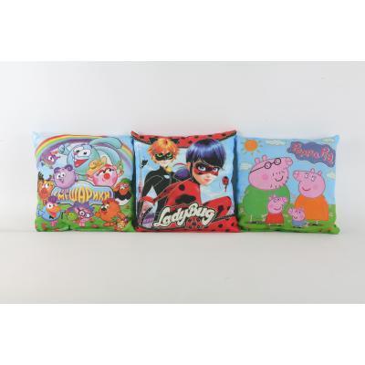 Подушка мягкая с супер героями