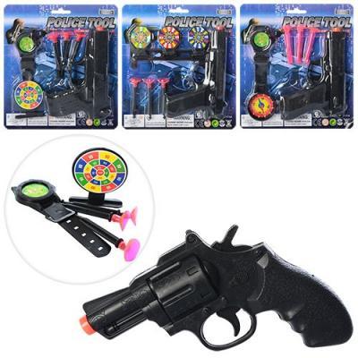 Набор полицейского пистолет, присоски
