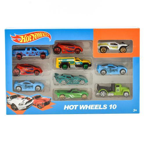 "Набор машинок ""Hot Wheels"" 10шт, 324-77"