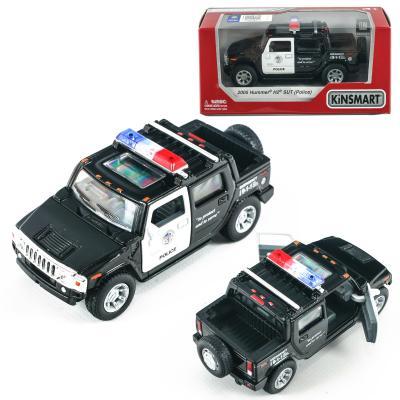 Машинка металлическая, инерционная полиция