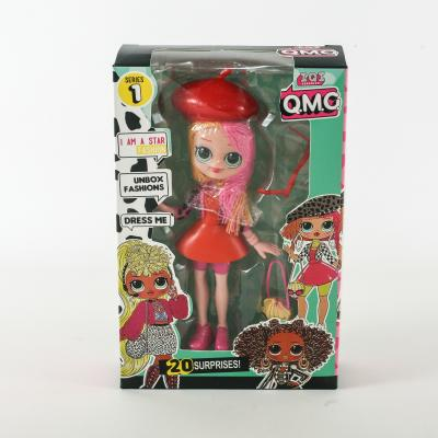 Кукла 19982 (112шт) LOL,15 см,аксесуары,4 вида, 19982