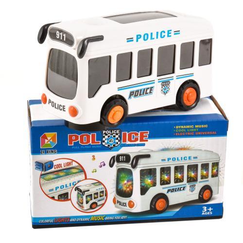 Автобус на батарейке музыкальный, 3307A