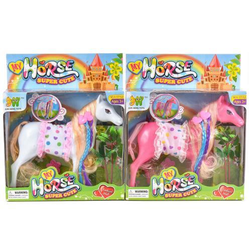 Лошадка с цветными локанами, 6685-2