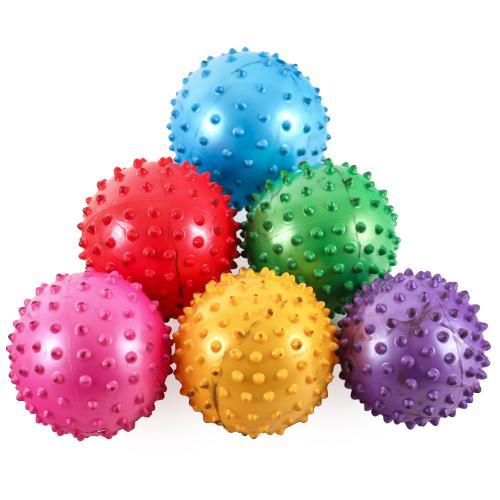 Мяч массажный 3 дюйма, 5 цветов, MS 0021