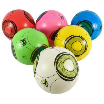"""Мяч резин. E03123 (400шт) 5цветов, 9"""" 80g,в пакете"""