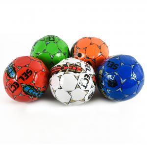 Мяч футбол E31210 (100 шт) №2, PVC, 100 грамм,5 цв