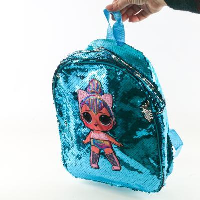 Рюкзак Куколка Лол (паетка)