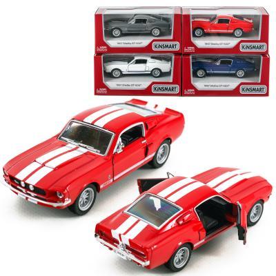Машинка металическая, 1967 Shelby GT-500, KT 5372 W