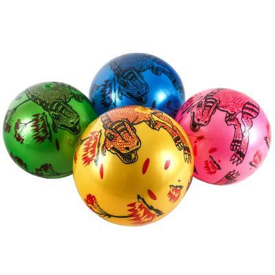 Мяч детский 9дюймов, рисунок(диноз