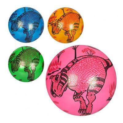 Мяч детский 9дюймов, рисунок(диноз, MS 1009