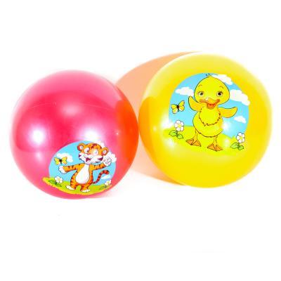 Мяч детский 9 дюймов, одностикерный, ПВХ, 75г, 6ви