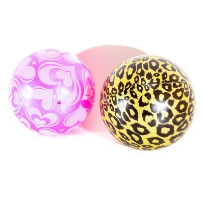 Мяч детский 9 дюймов, ПВХ, 75г, 6 видов