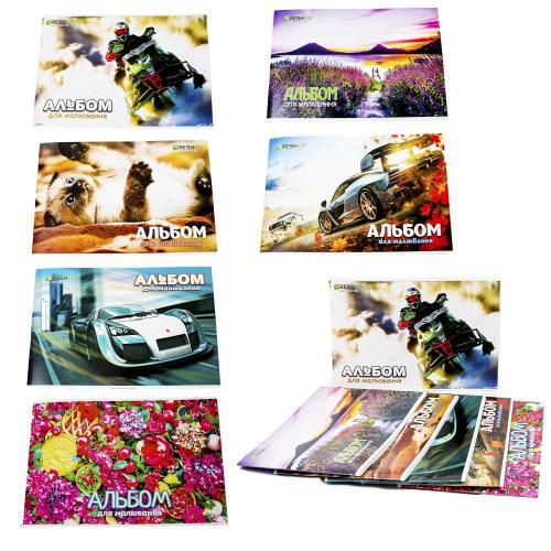 Альбом для рисования, 30 листов (цена за штуку), BR-FR-1330